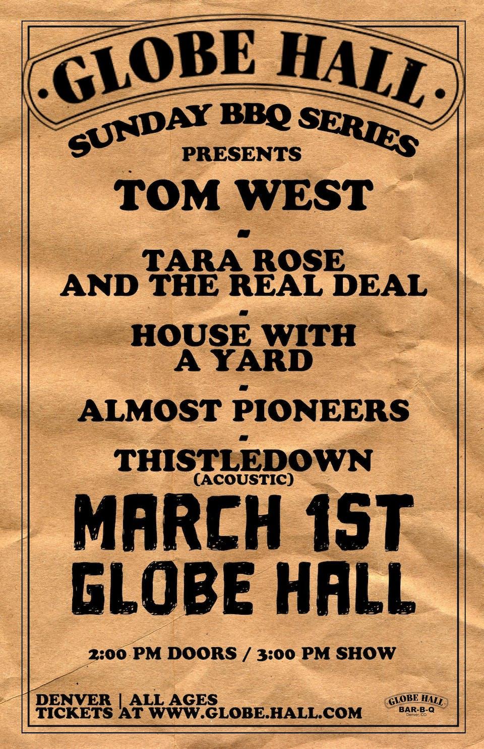 Globe Hall BBQ Series Presents - Folk