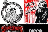 Stray Bullets, Duck & Cover, Silver Screams, Disco Rice