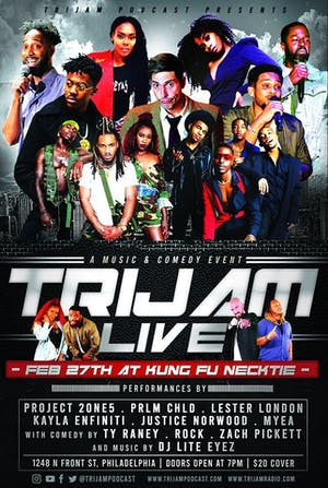 TriJam LIVE! - R&B, Hip Hop & Standup