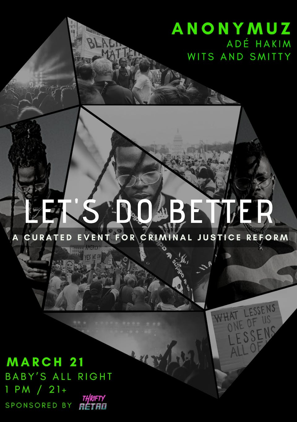 LET'S DO BETTER ft. Anonymuz with Adé Hakim, witS & Smitty