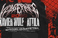 Attila and Xavier Wulf Vengenace 2020 Tour at HMAC
