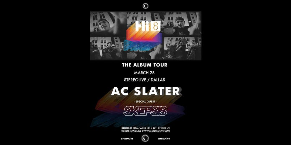Postponed, New Date TBD - AC Slater - Stereo Live Dallas