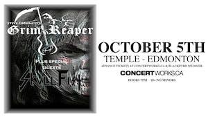 Steve Grimmett's Grim Reaper w/ Skull Fist & Guest