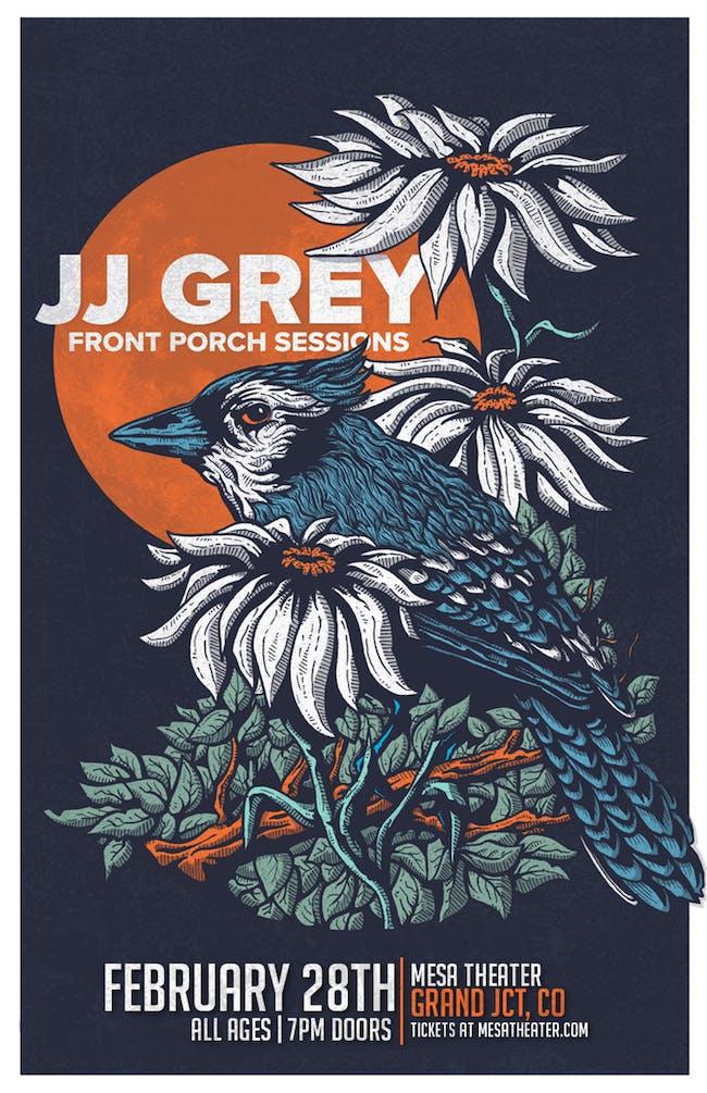 JJ GREY at Mesa Theater