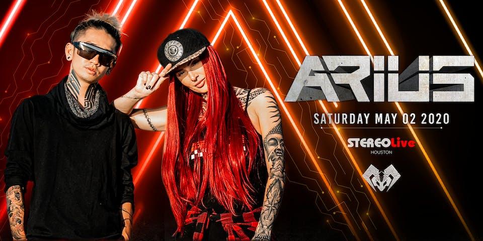 Arius - Stereo Live Houston