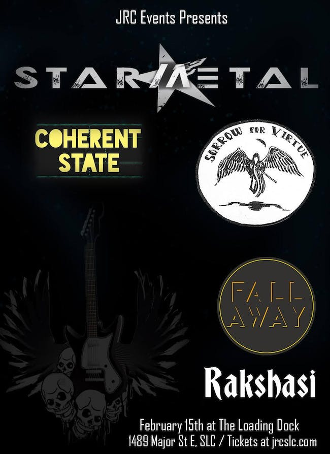 Star Metal, Sorrow For Virtue, Rakshasi, Fall Away