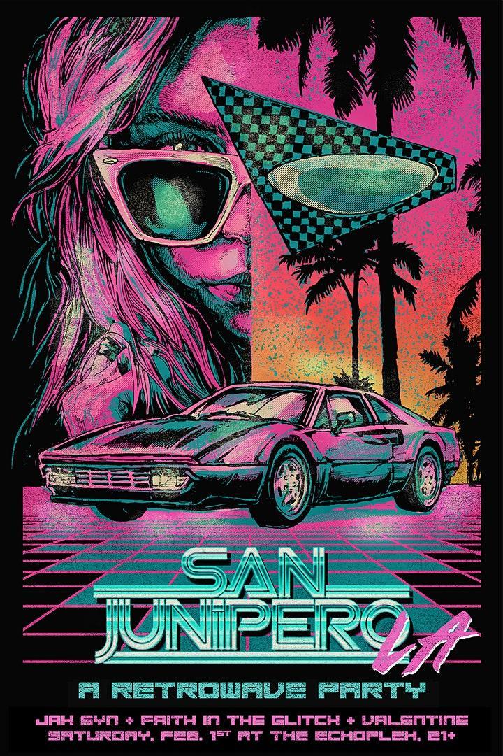 San Junipero L.A. - A Retrowave Party