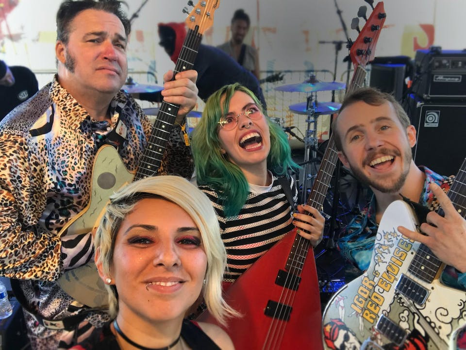Igor & the Red Elvises with KLAMZ