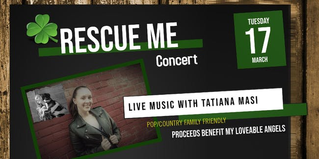 Rescue Me Concert: A Benefit for My Loveable Angels