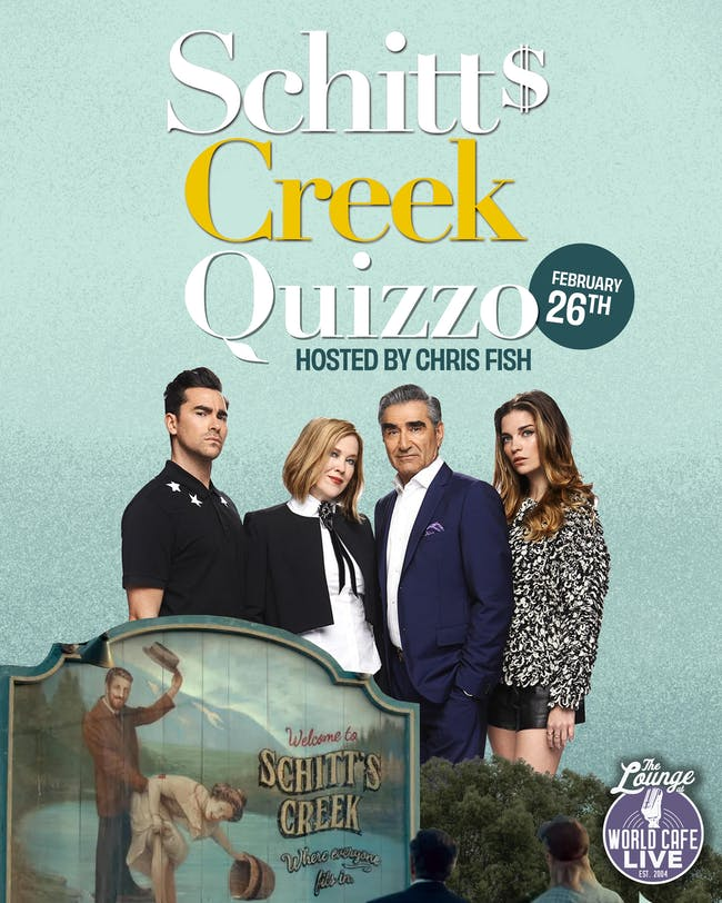 Schitt's Creek Quizzo hosted by Chris Fish