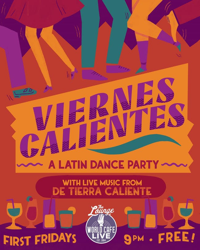 Viernes Calientes: A Latin Dance Party