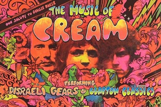 The Music of Cream - New Date