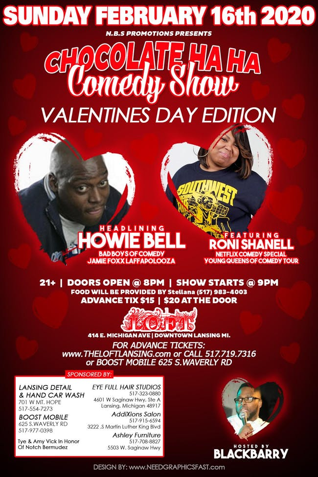 Chocolate  HA HA Comedy Show