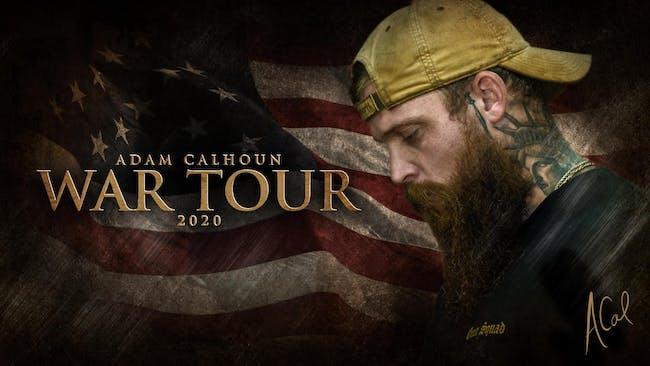 Adam Calhoun War Tour 2020 at Brauer House
