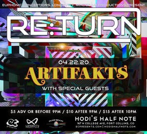 Re:Turn feat. Artifakts w/ Special Guests