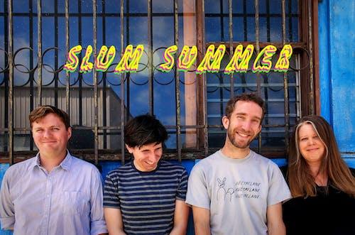 SLUM SUMMER, The Gorgeous Boyscouts, Hurricane Kate