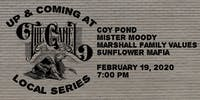 Up & Coming at The Camel with Coy Pond, Mister Moody, and more!