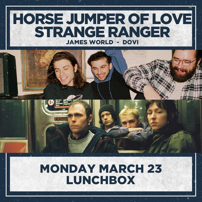 HORSE JUMPER OF LOVE / STRANGE RANGER