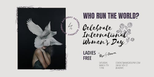 International Women's Day at Up & Down NYC