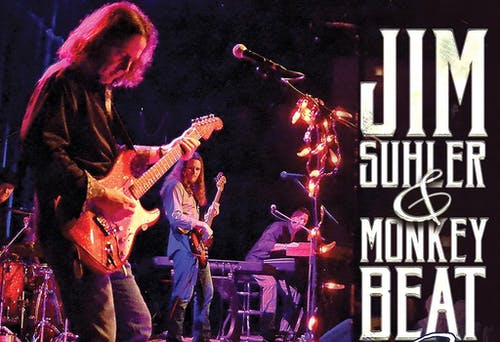 Rescheduled- Jim Suhler and Monkey Beat with Salvation From Sundown