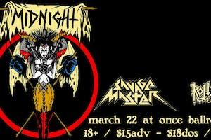 Midnight / Savage Master / Rotten (UK)