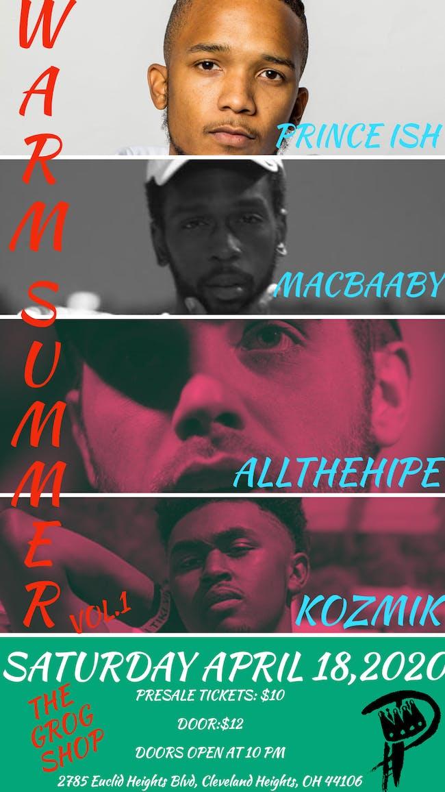Prince Ish w / All the hipe / Macbaaby /  Kozmik