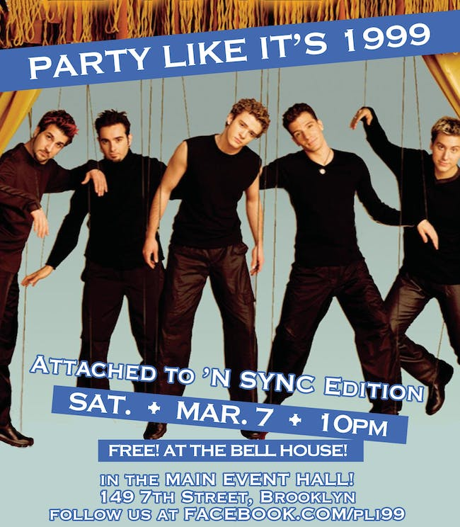 Party Like It's 1999: Attached to 'N SYNC Edition