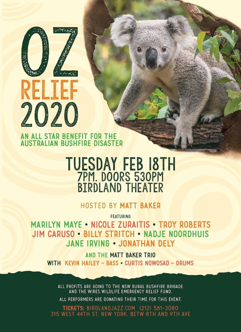 "Matt Baker Hosts""Oz-Relief 2020"" A Benefit for Australian Bushfire Disaster"