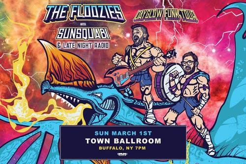 The Floozies: Dayglow Funk Tour