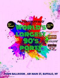 2ND ANNUAL WORLD'S LARGEST '90s PARTY