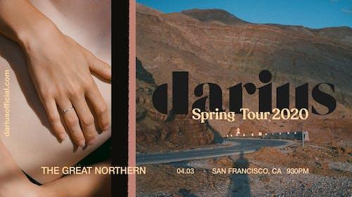 Darius –Spring Tour 2020