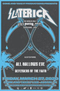 SLATERICA: The World's Only Slayer / Pantera / Metallica Cover Band