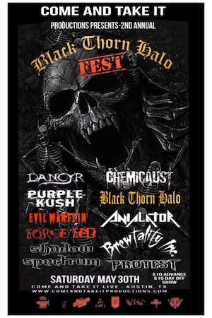BLACK THORN HALO FEST 2020