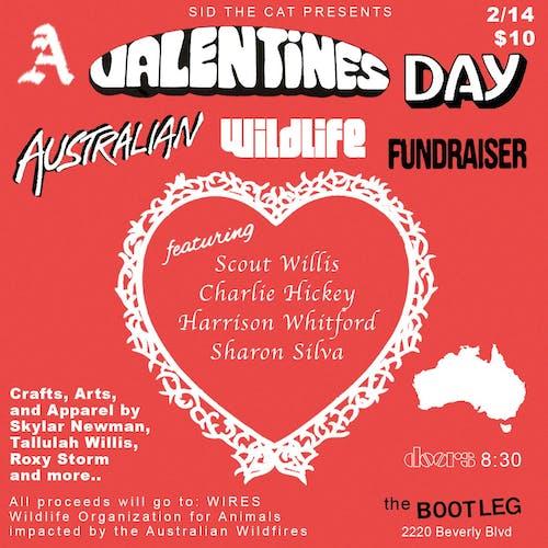 A Valentine's Day Australian Wildlife Fundraiser