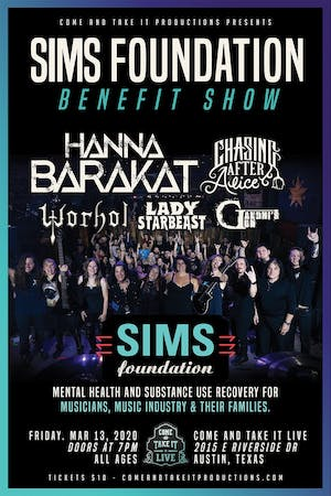 The SIMS Foundation Benefit Show