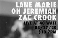 Lane Marie- Oh Jeremiah - Zac Crook