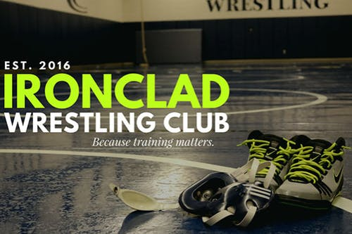 Ironclad Youth Wrestling Team Party