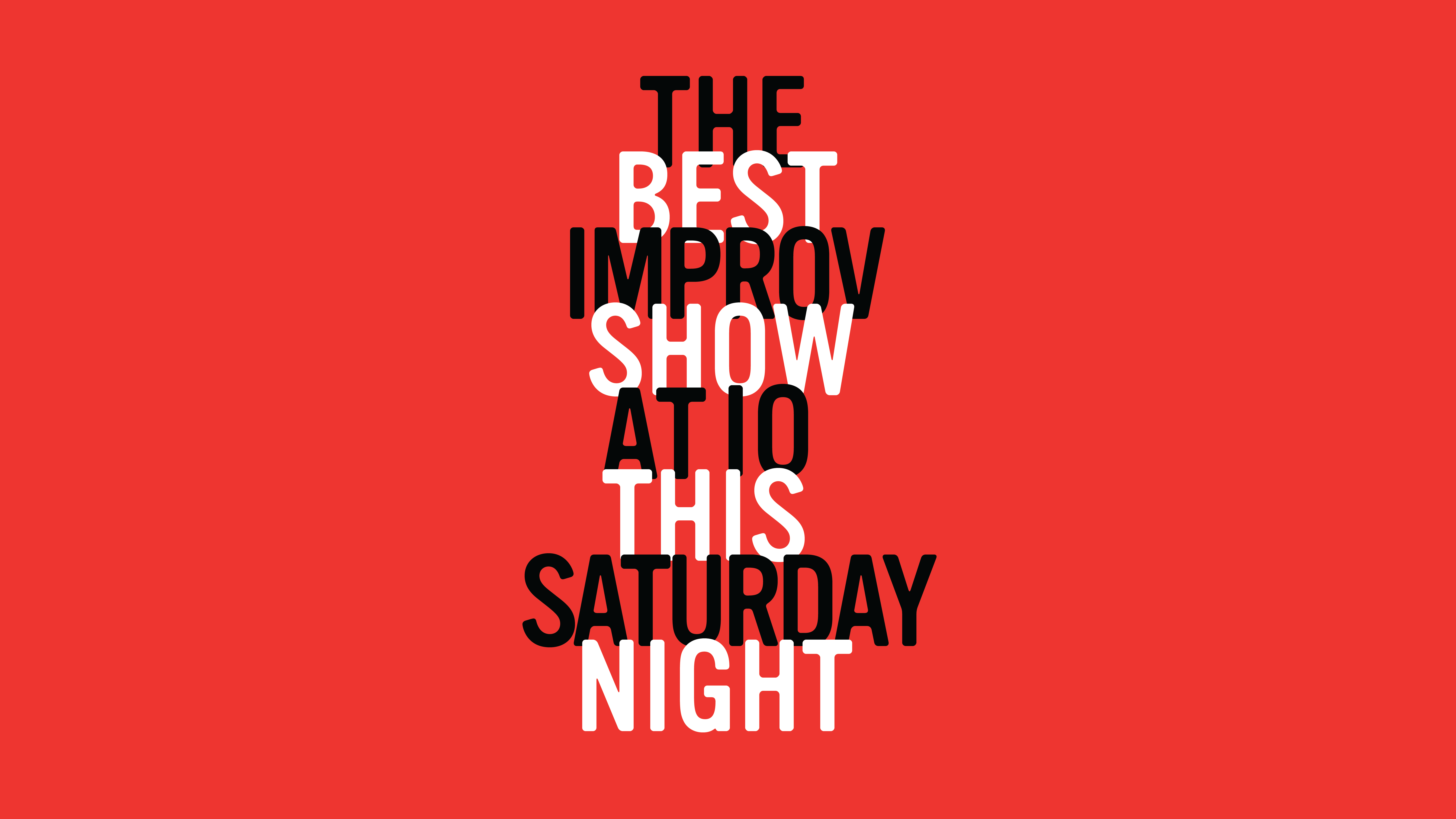 The Best Improv Show At iO This Saturday Night