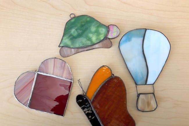 Stained Glass Sun Catcher Class