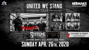 Trapt, The Calling, Tantric, Smile Empty Soul and Psycho Village(Postponed)