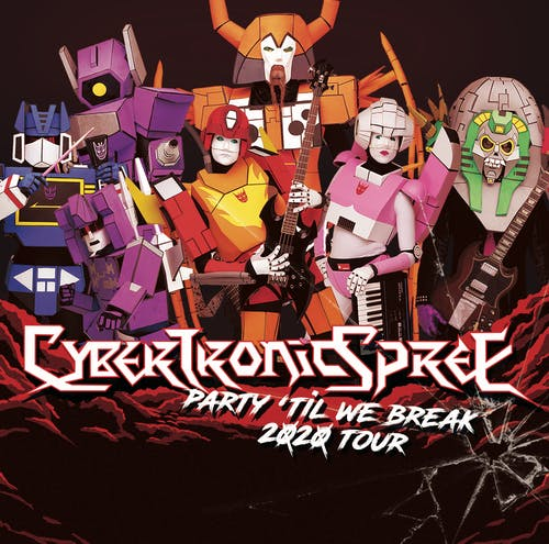 "The Cybertronic Spree ""Party 'Til We Break"" Tour @ High Dive"