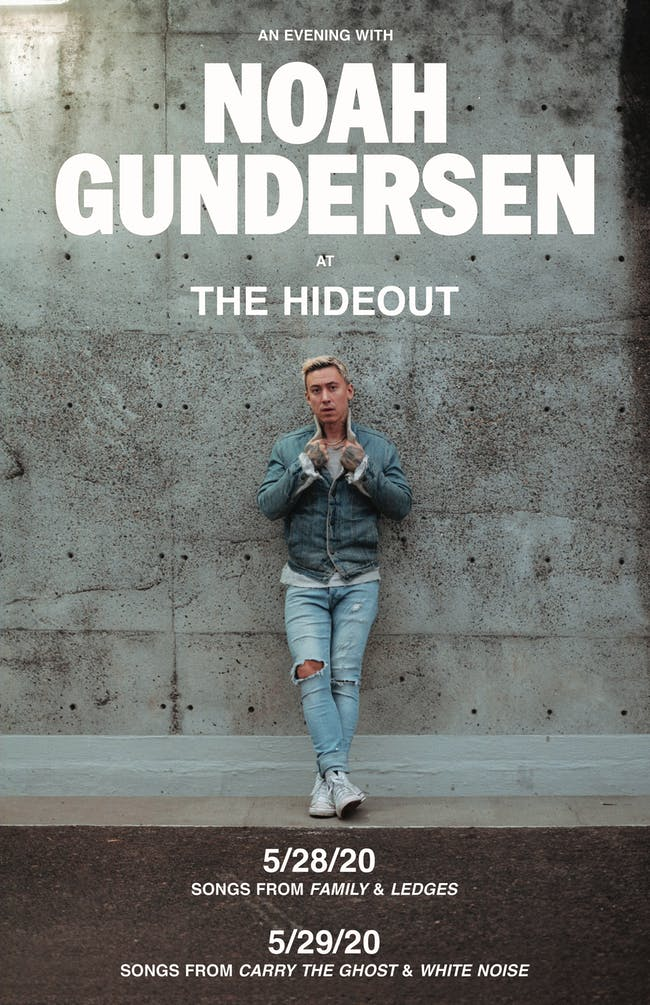 An Evening with Noah Gundersen - Night 1