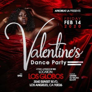 Valentine Day Afro Beat Party