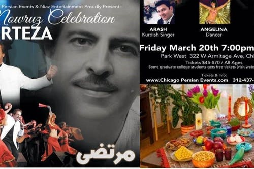 Nowruz Celebration with Morteza Barjesteh
