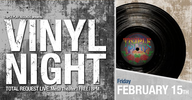 Vinyl Night at Mesa Theater