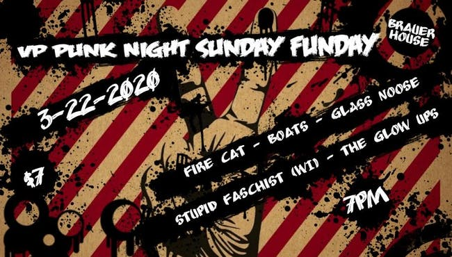 VP Punk Night Sunday Fundays