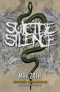 Suicide Silence at Mesa Theater