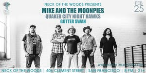 Mike and the Moonpies, Quaker City Night Hawks, Gutter Swan