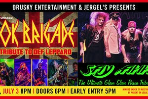 Rok Brigade (A Tribute to Def Leppard) & Say Ahh (A Tribute to Poison)