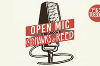 OPEN MIC at Hawks & Reed: Where we showcase you!